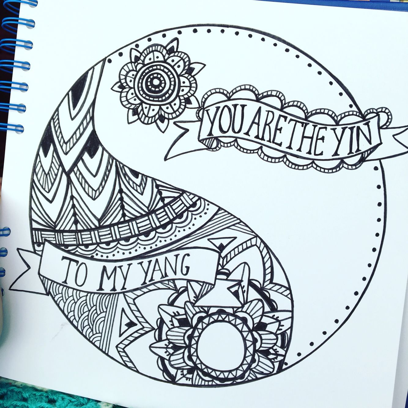 You are the yin to my yang   Happy drawings   Pinterest   Zeichnen ...