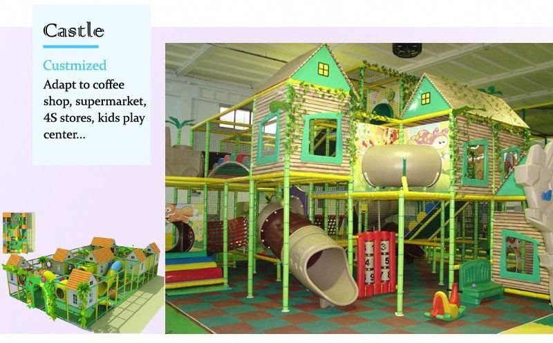 Angel Playground©-Anti-UV kids indoor play equipment, Food Grade