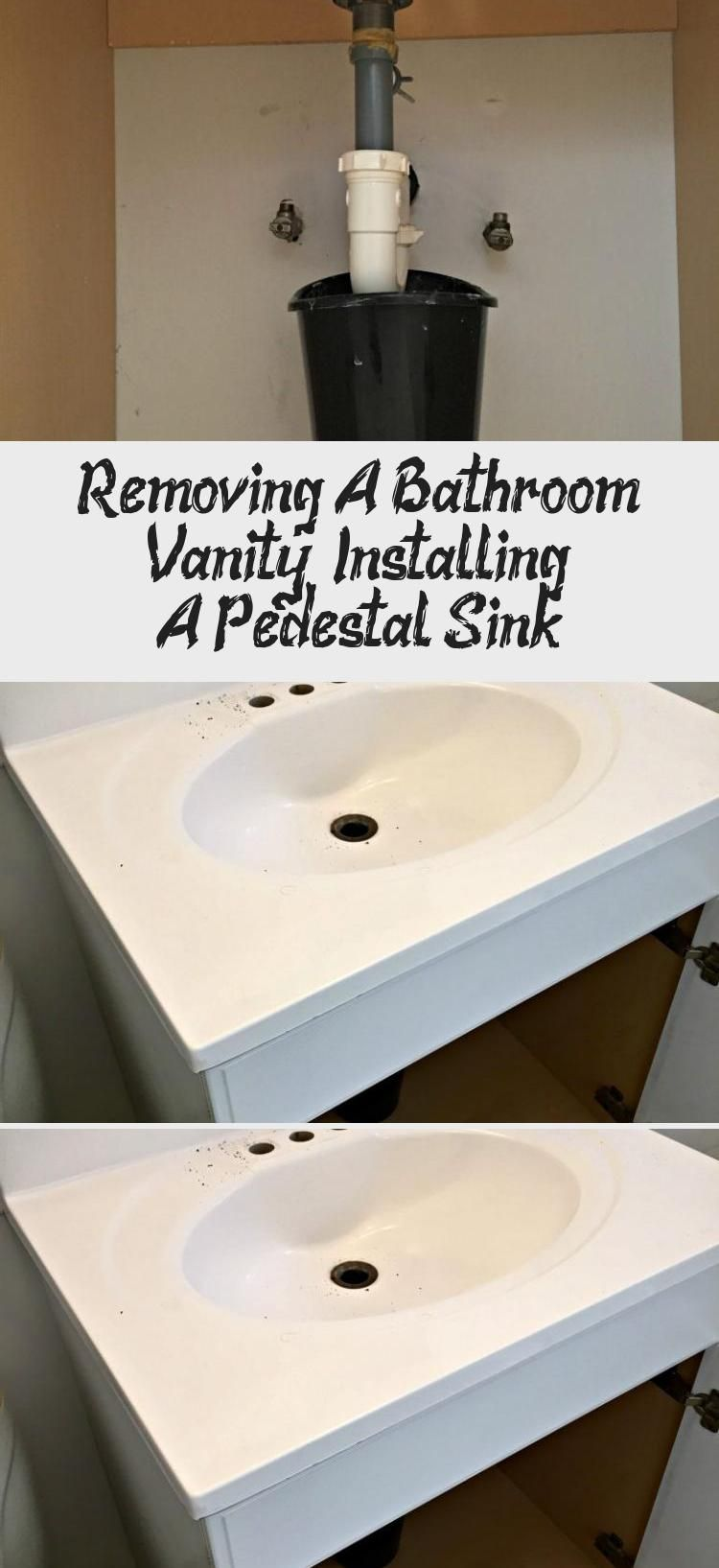 How To Remove A Bathroom Sink Vanity In 7 Simple Steps