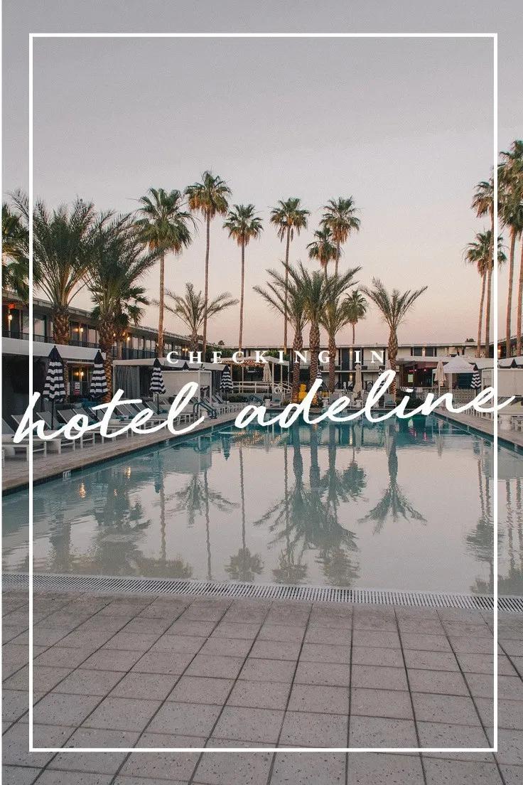 Checking In Hotel Adeline In Scottsdale Az Like The Drum In