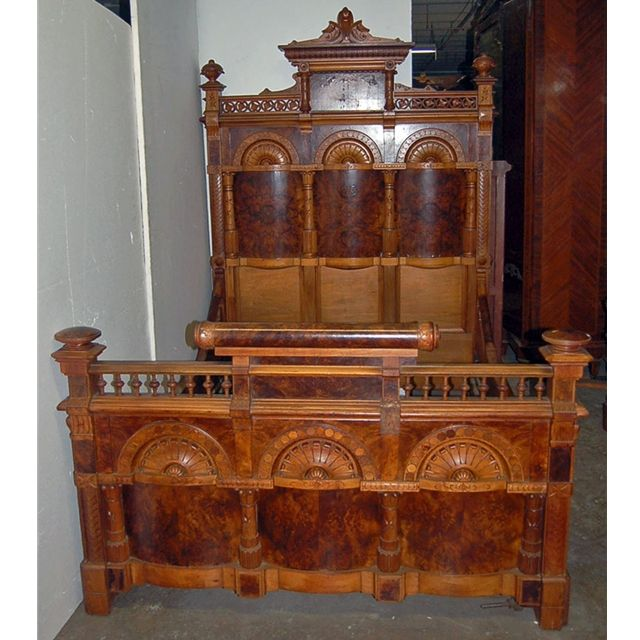 Antiques » Antique Furniture » Antique Beds & - What Is Eastlake Furniture Antiques » Antique Furniture