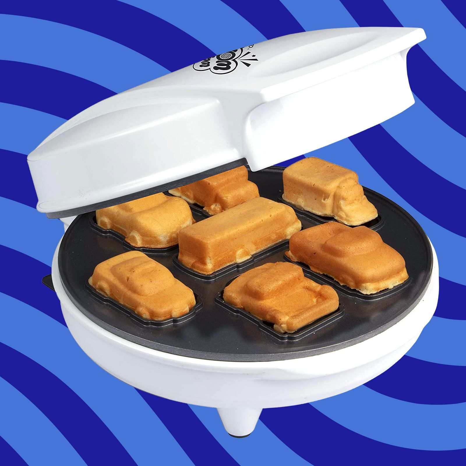 This Waffle Maker Creates 3D Cars And Trucks, So It's