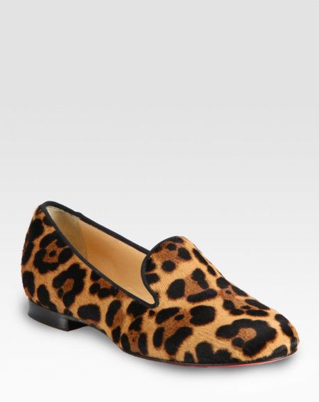 new style cf8c5 25d86 Women's Leopardprint Pony Hair Loafers | All Things Leopard ...