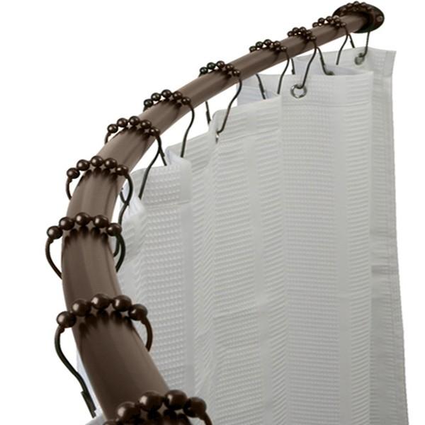 Arista Bath Cr05 Rb Adjustable Curved Shower Curtain Rod Oil