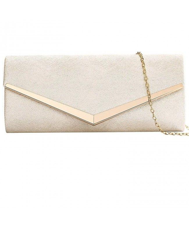 080efd7feae Womens Evening Clutch Bag Wedding Purse Bridal Prom Handbag Party ...
