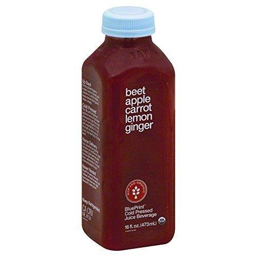 Blueprint Juice Beet Apple Carrot Lemon Ginger 16 Ounce
