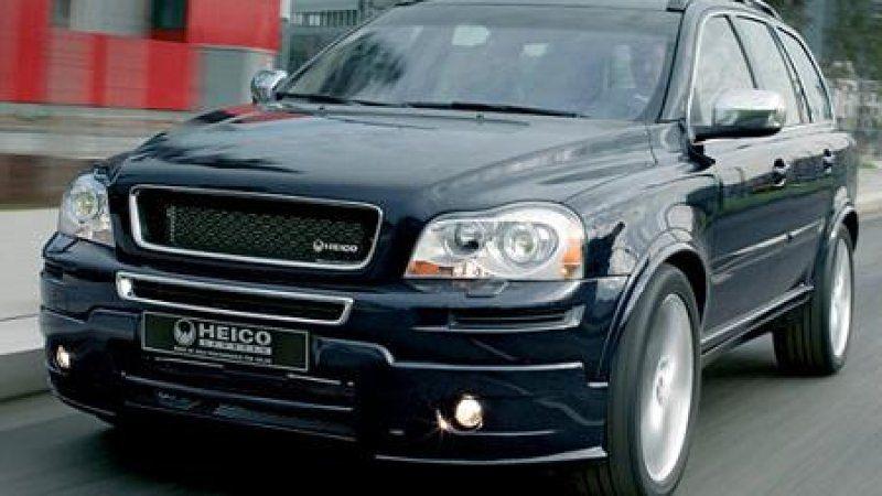 Heico Hops Up The New 2007 Volvo Xc90 Volvo Xc90 Volvo Ford Trucks