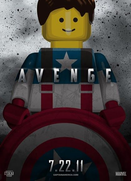 Desafio Criativo: Releituras de Posters De Filmes Em Versão LEGO, por Old Red Jalopy