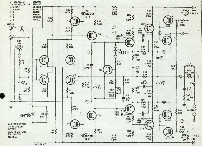 Amplifiers In