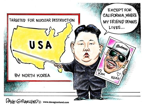 Image result for North Korea LEADER CARTOON
