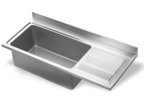 SS sink with drainboard  Kitchen planning  Single bowl