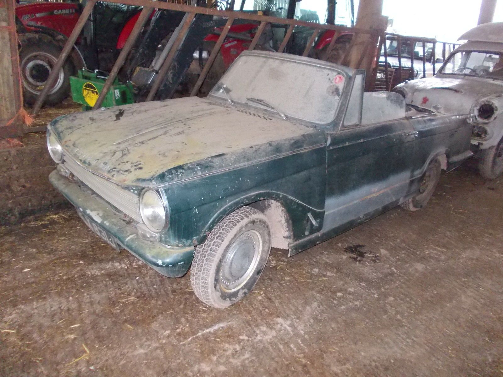 1971 (J) TRIUMPH HERALD 13/60 CONVERTIBLE FOR RESTORATION WITH TWIN CARBS ! | eBay