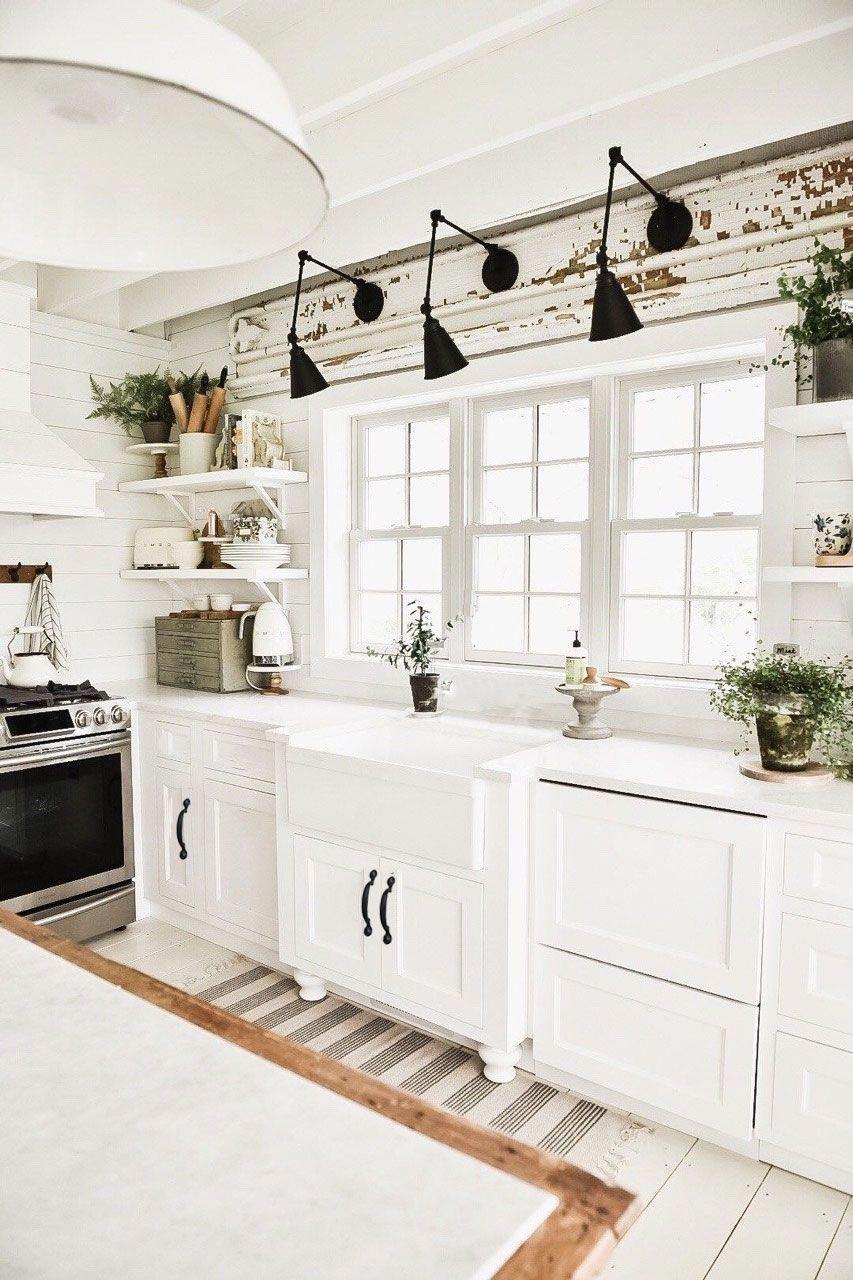 contemporary minimalist kitchen design. #Shabbychickitchen ...