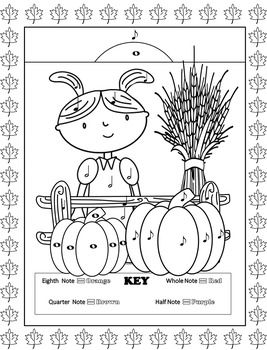 Music Coloring Pages Fall Fall Music Coloring Music Coloring Sheets Music Coloring