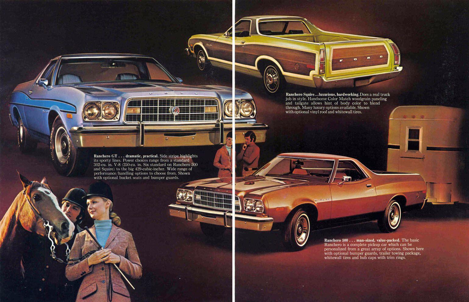 Ford Ranchero Sales Brochure  Classic Workhorses