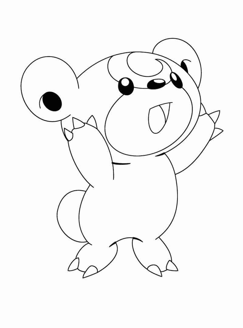 Teddiursa Pokemon Coloring Pages In 2020 Pokemon Coloring Pages Pokemon Coloring Sheets Pokemon Coloring