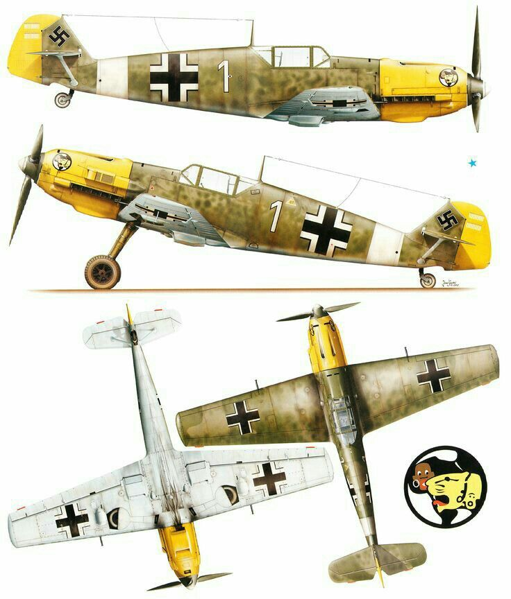 messerschmitt bf 109 coloring pages - photo#12