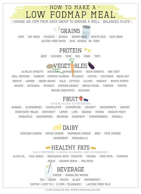 How to make  low fodmap meal final pdf also portion size matters on the diet recipes rh pinterest