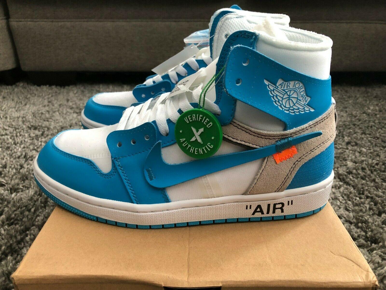 Introducir Sofisticado facultativo  Air Jordan Men's Jordan 1 Retro High UNC 'Off White StockX Verified Men's  Size 9.5 | Jordans for men, Black casual shoes, Mens nike air