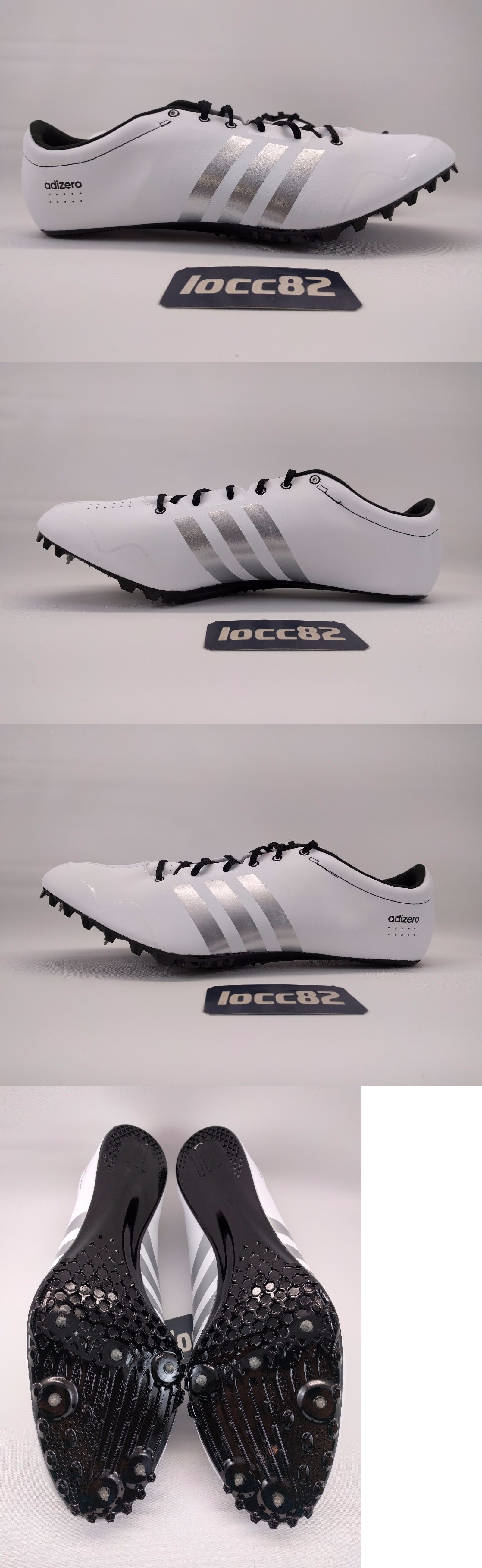 meet eb574 57f69 Track and Field 106981 Adidas Mens Adizero Prime Sp Sprint Track Spikes Sz  11 (S80335) White Black BUY IT NOW ONLY 69.99