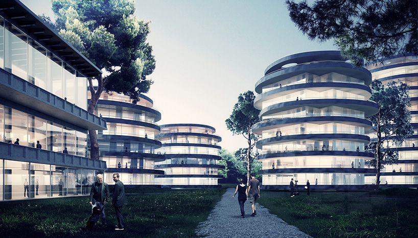 Atelier Thomas Pucher Conceptualizes Urban Terraces In Vienna