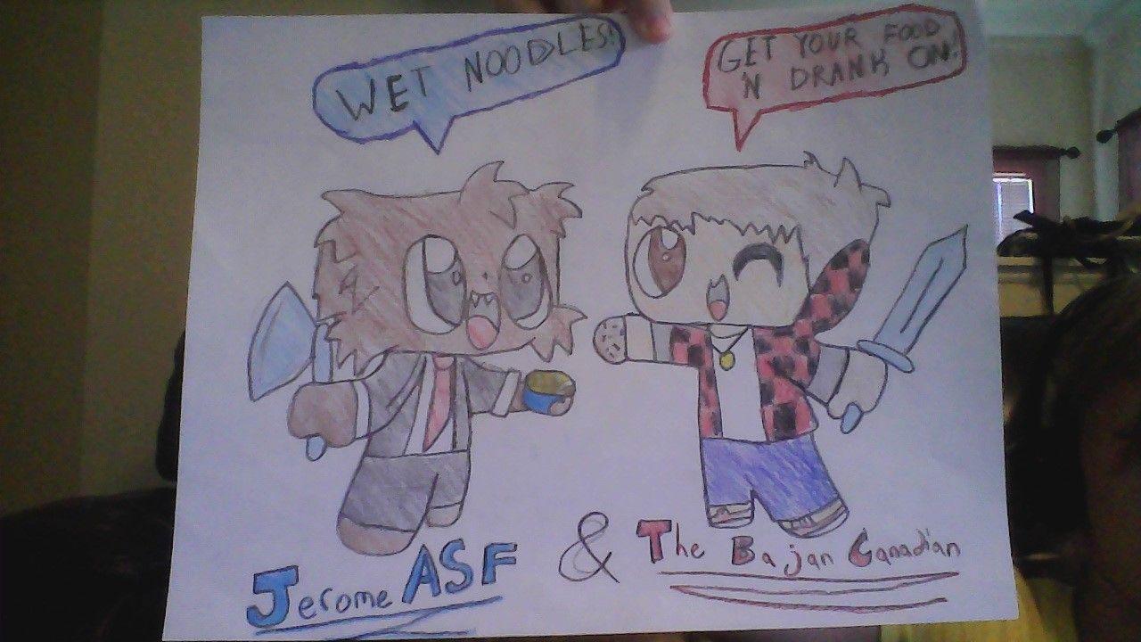 bajancanadian and jerome fan art wwwpixsharkcom