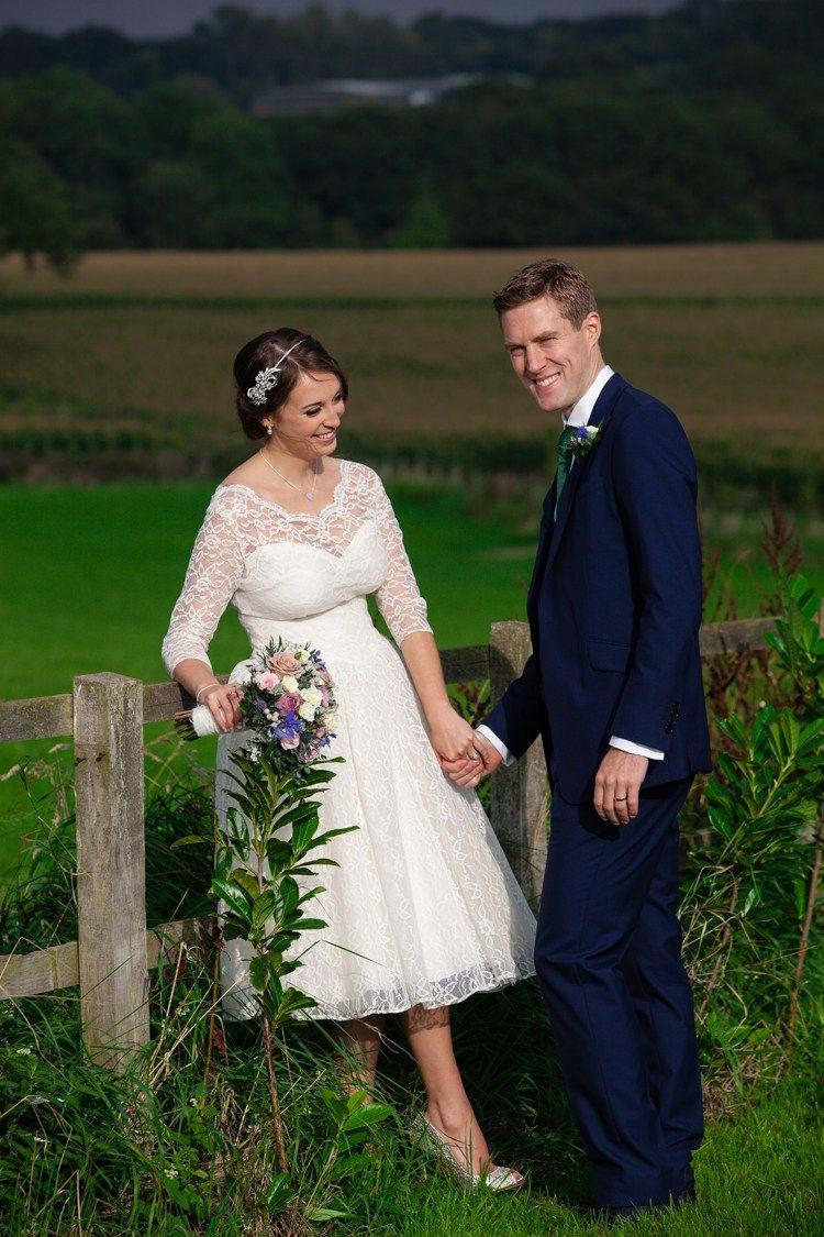 Vintage blue country farm wedding kathrynedwardsphotography