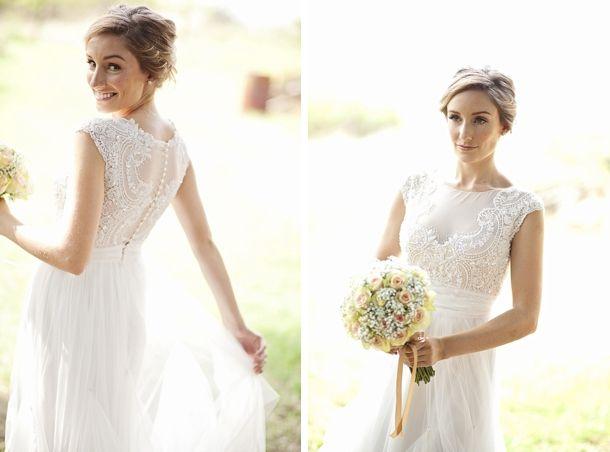 Shruthi In A Dreamy One Shoulder Pronovias Dress: Real Wedding At Collisheen Estate {Julia & Waylon}