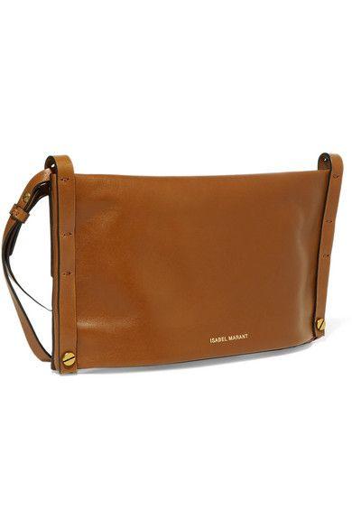 a96e7adfb5 Isabel Marant - Drissa Leather Shoulder Bag - Tan in 2019   spring ...