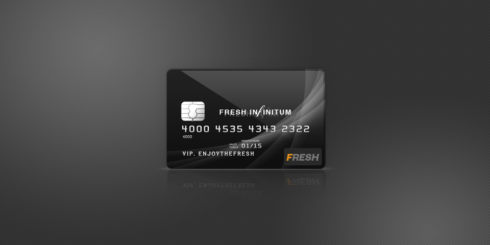 Credit Card Mockup (PSD)