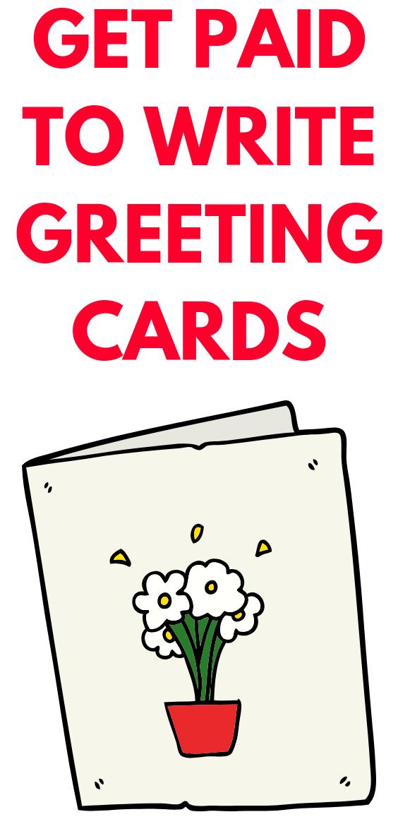 Get Paid To Write Greeting Cards Writing Jobs Writing Card Writer