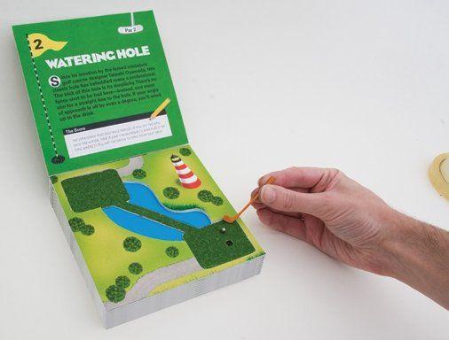 Golf miniatura portátil