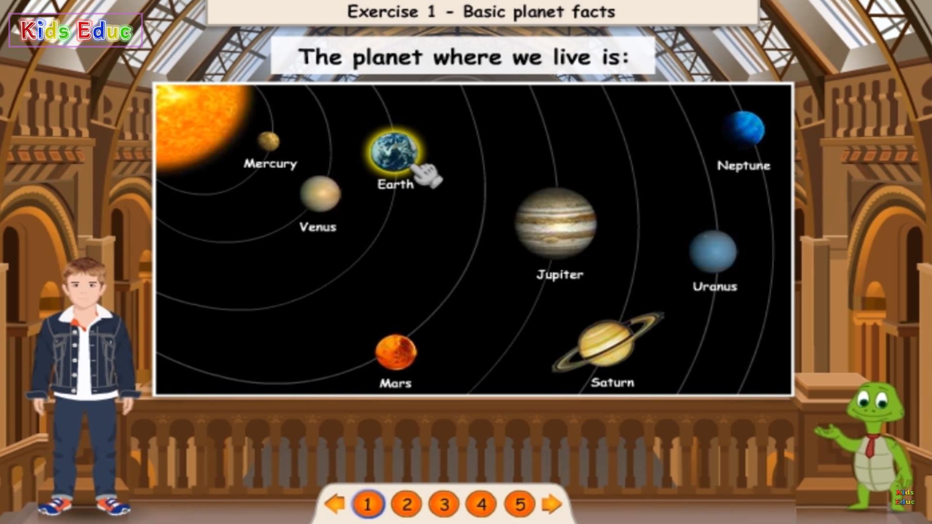Quiz Para Aprender Mas Sobre Los Planetas
