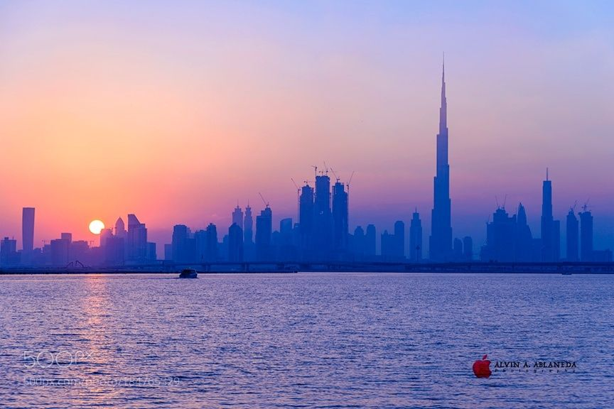 Sunset @ Jaddaf by aandre7972. @go4fotos