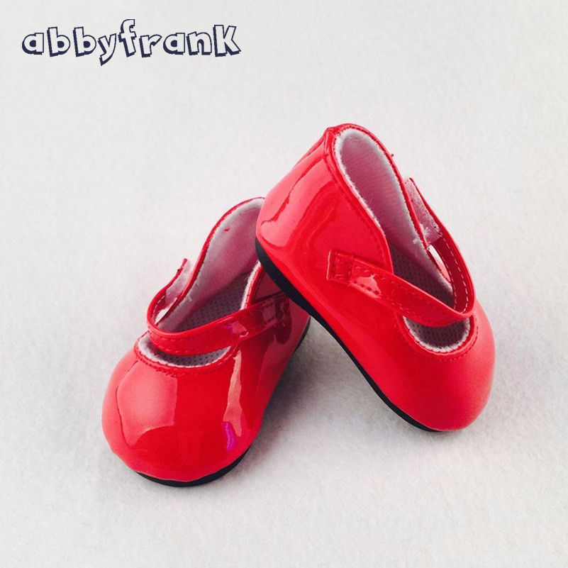 7a5c695fccef7 Abbyfrank Doll Shoes Fashion Cute Colorful Assorted Shoes Fit For 18 ...