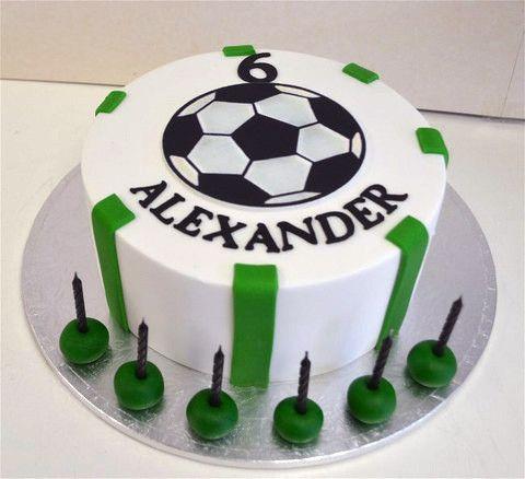 Easy Soccer Cake Google Zoeken Soccer Cake Cake Desserts