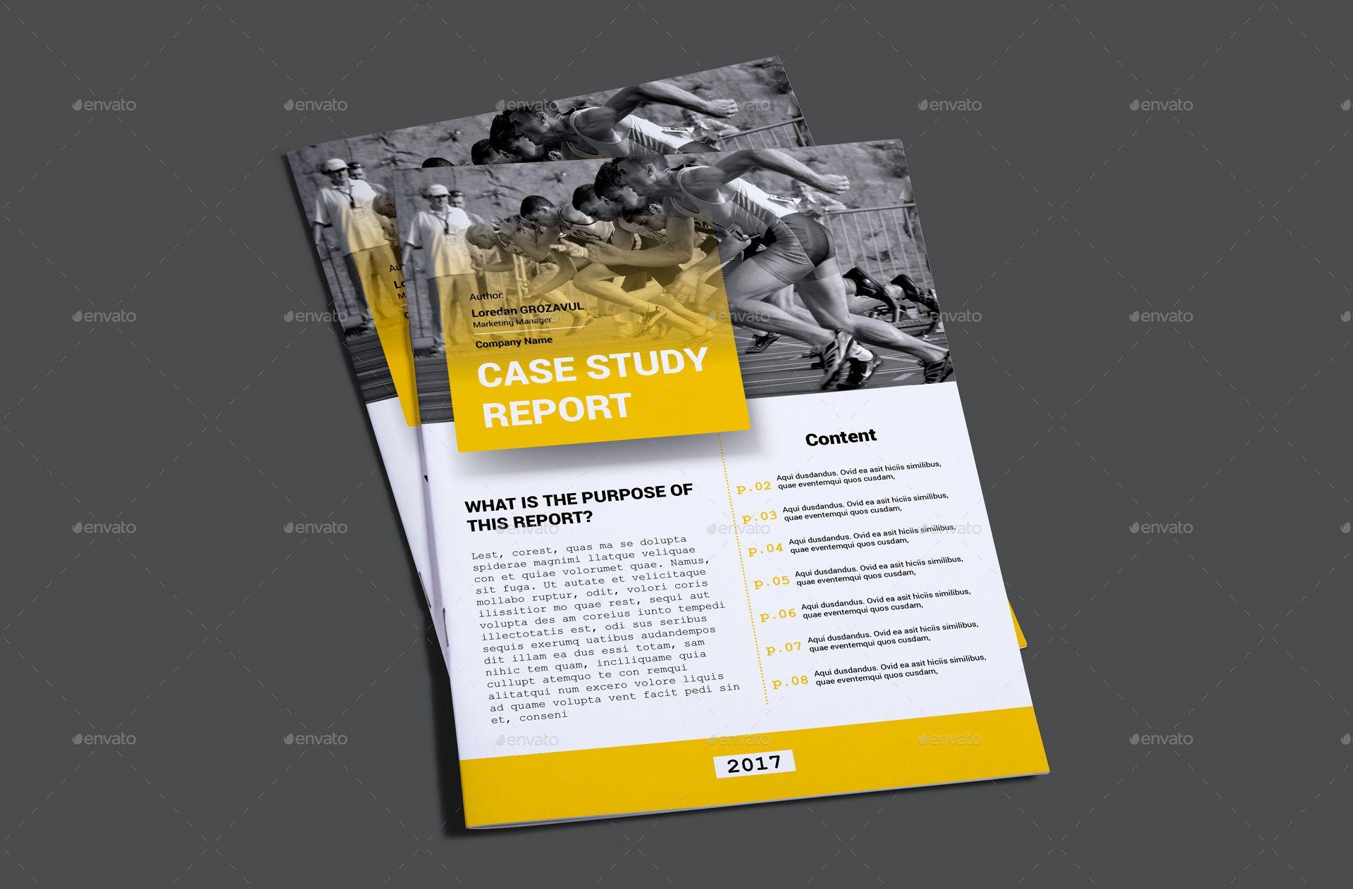 Case Study Report Template | Pinterest