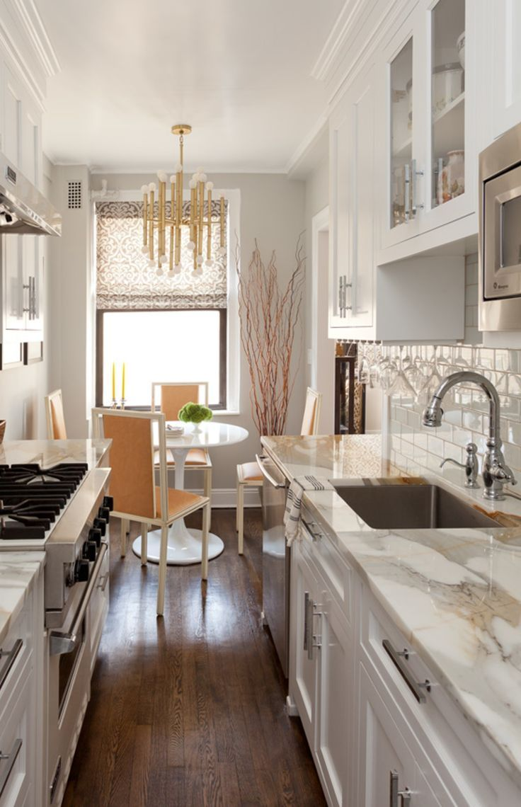 Gorgeous counter tops! The white paint and those counters make this ...