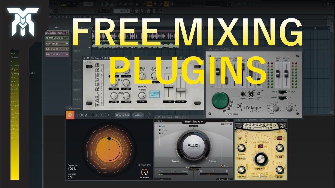 Best FREE VST Effect Plugins For Mixing composer art