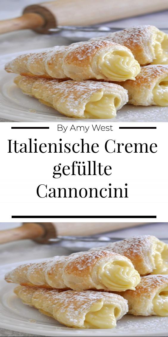 Photo of Italienische Creme gefüllte Cannoncini – Ultimatefood