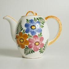Keramik | Steingut | Kaffe-Tee-Kanne von Schramberg Dek. 58 Handbemalt