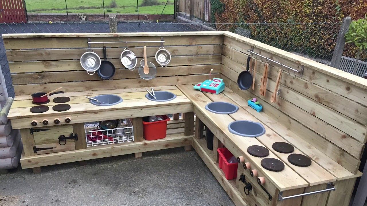 How To Build A Mud Kitchen Mud Kitchen Outdoor Play Kitchen Mud Kitchen For Kids
