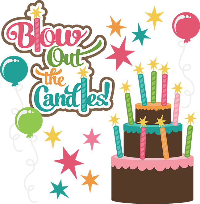 blow out the candles svg birthday clipart cute birthday clip art rh pinterest com clip art for birthday wishes clipart for birthdays free