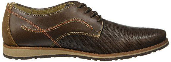 7453f1d1e Flexi Nexus Zapato Casual para Hombre, color Chocolate, 26.5, Mod: 76804: