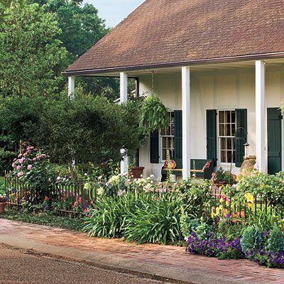 southern garden ideas  garden home, Landscaping/