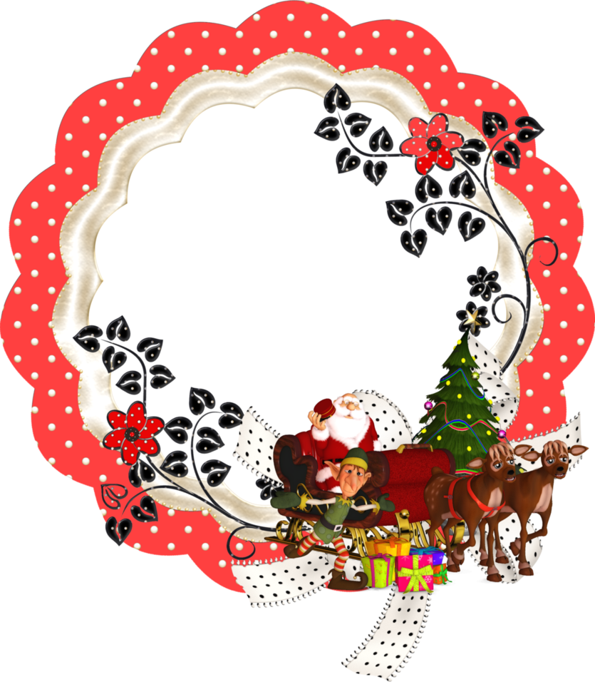 Merry Christmas Frame by mysticmorning | frames | Pinterest ...