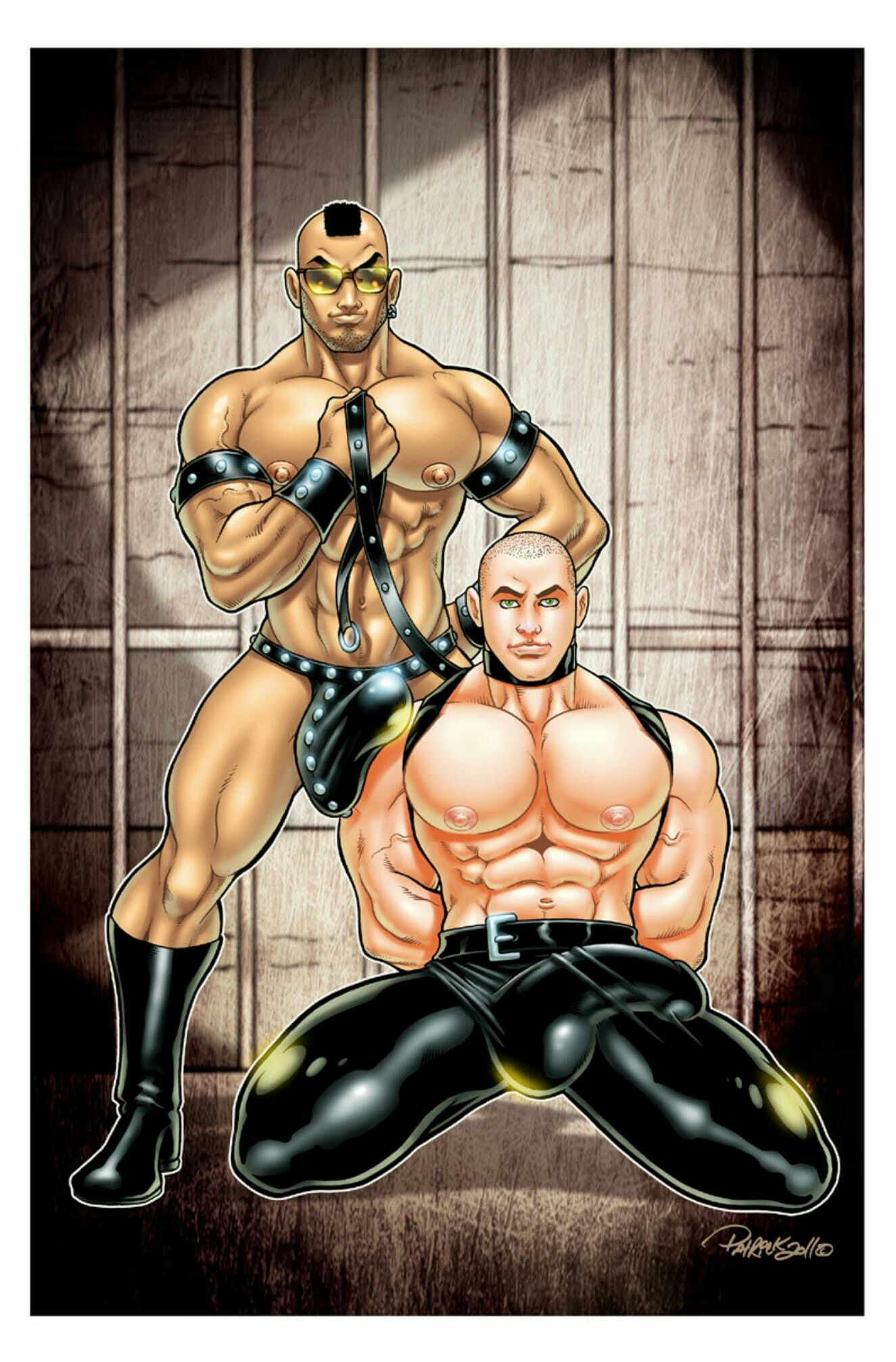 Muscle slave gay