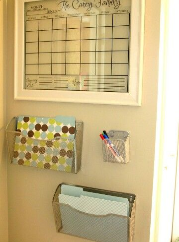 CALENDAR!! Family Schedule Organizer Wall / Houzz For the Home