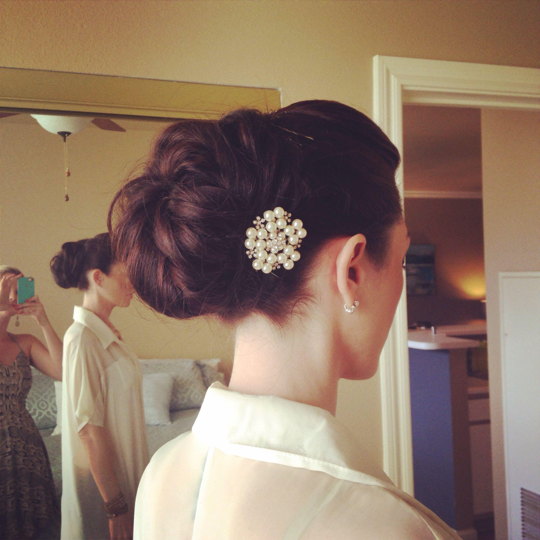 bridal hair trial for august wedding! bridal beauty