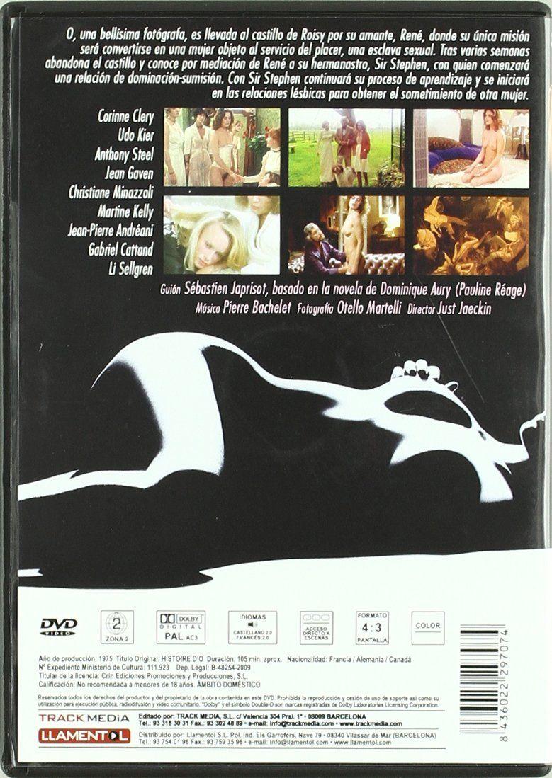 Historia De O Dvd Historia De Dvd